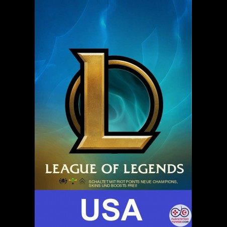 Cartes LEAGUE OF LEGENDS [USA]